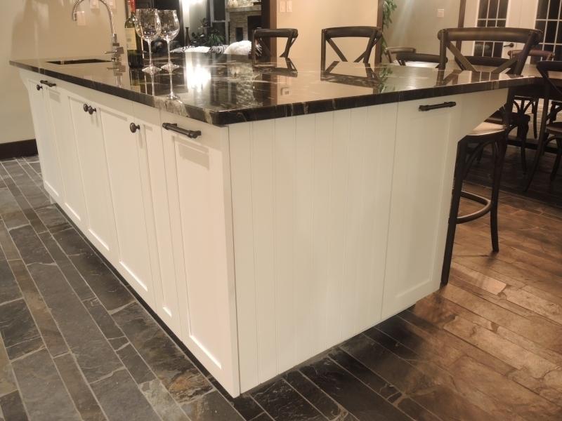 Armoire de cuisine contemporain atelier meuble rustique for Fabricant meuble quebec