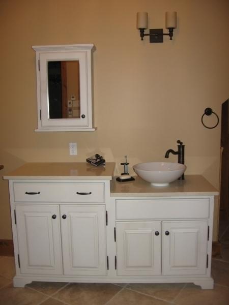 Vanit atelier meuble rustique for Liquidation meuble de cuisine
