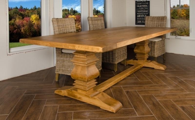 Table de cuisine atelier meuble rustique for Liquidation de cuisine