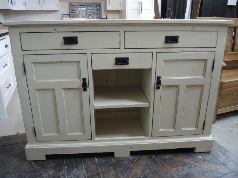 Buffet atelier meuble rustique for Liquidation meuble de cuisine