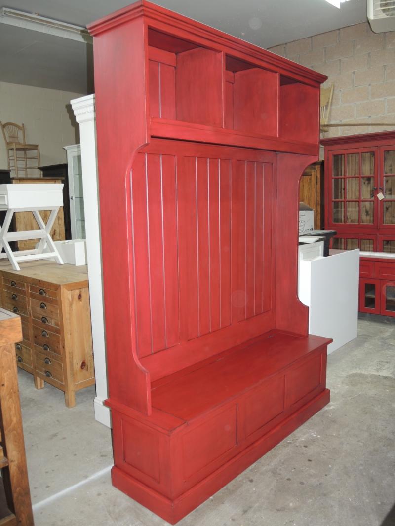 Armoire Chambre Quebec : Banc d entrée atelier meuble rustique
