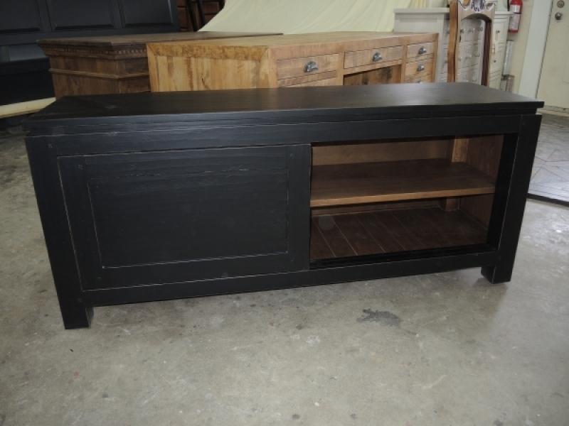 Meuble t l vision atelier meuble rustique - Meuble tele rustique ...