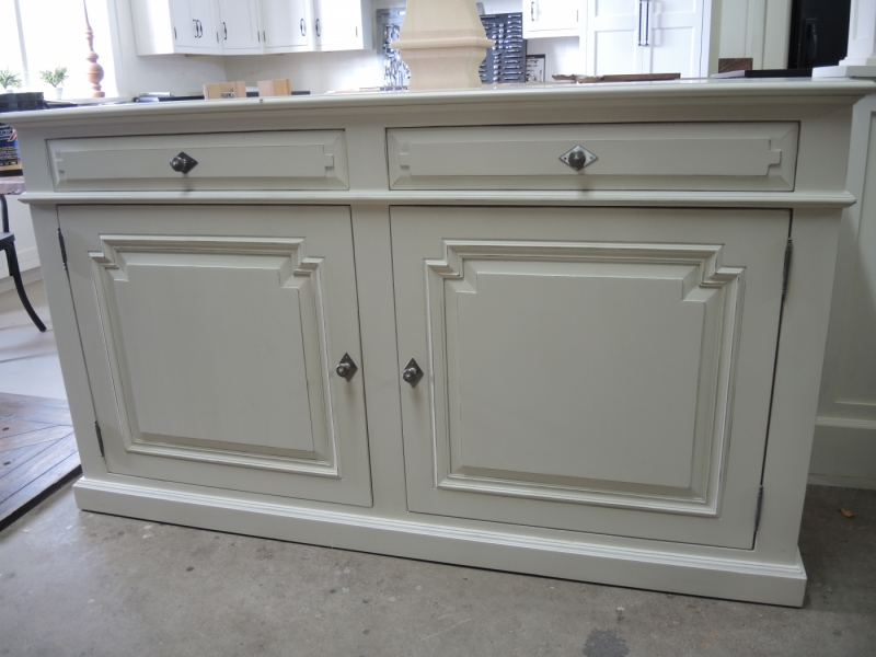 Buffet blanc rh atelier meuble rustique for Fabricant meuble quebec