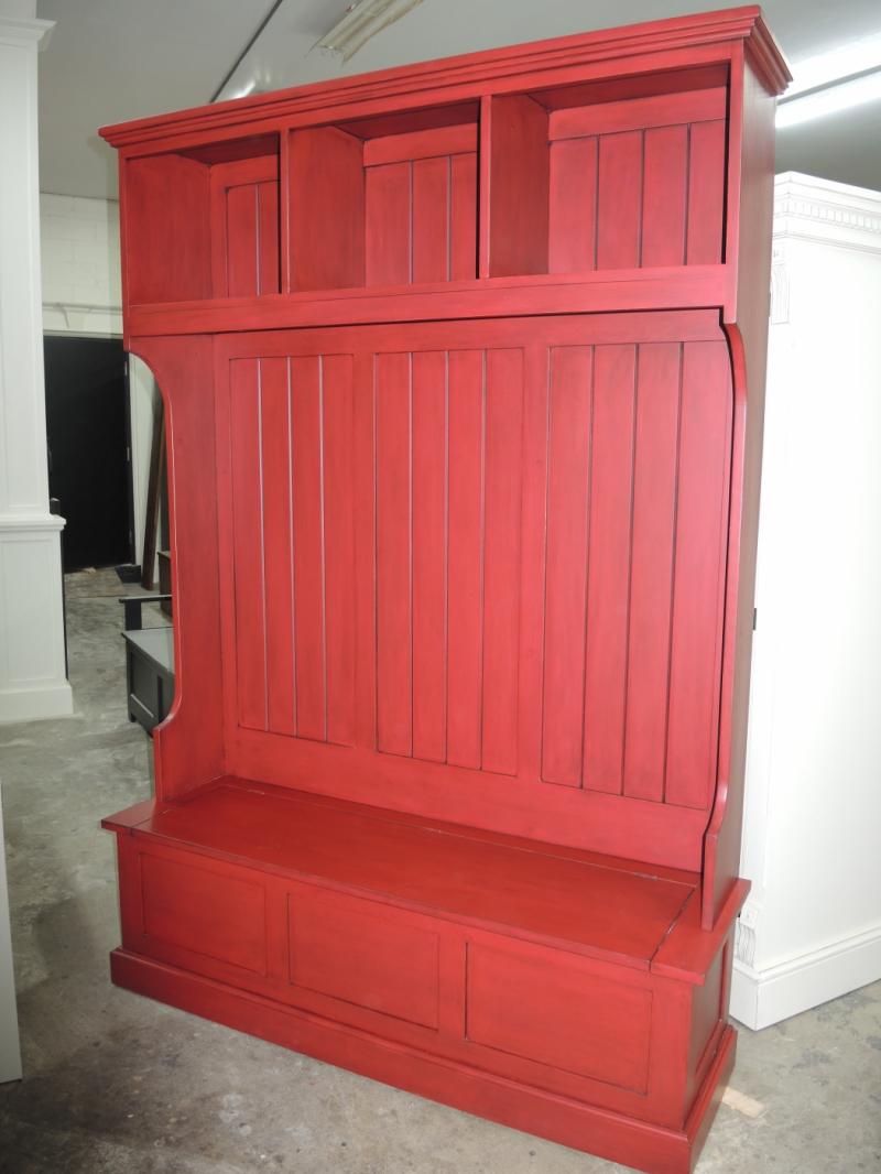 Banc d 39 entr e atelier meuble rustique for Liquidation meuble cuisine