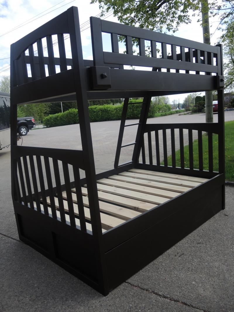 lit superpos atelier meuble rustique. Black Bedroom Furniture Sets. Home Design Ideas