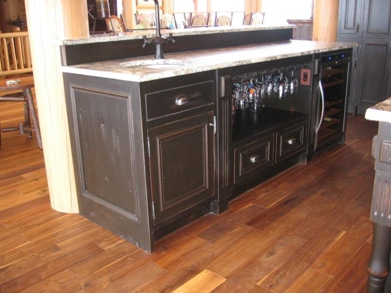 Armoire du cuisine rustique atelier meuble rustique for Liquidation meuble de cuisine